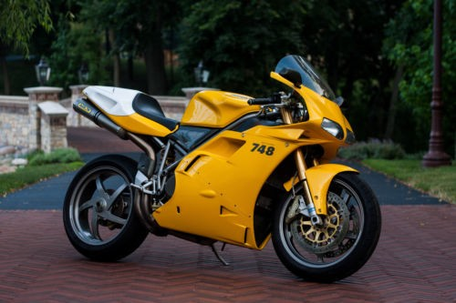 2001 Ducati Superbike Yellow craigslist