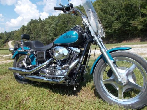 2001 Harley-Davidson Dyna Low Rider Blue, Black for sale