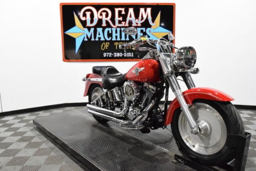 2001 Harley-Davidson FLSTF - Softail Fat Boy Managers Special -- Red craigslist