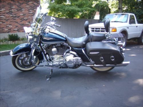 2001 Harley-Davidson Touring Luxury Blue-Ice for sale