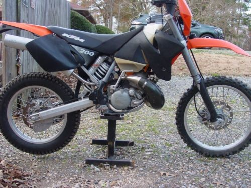 2001 KTM EXC Orange for sale craigslist