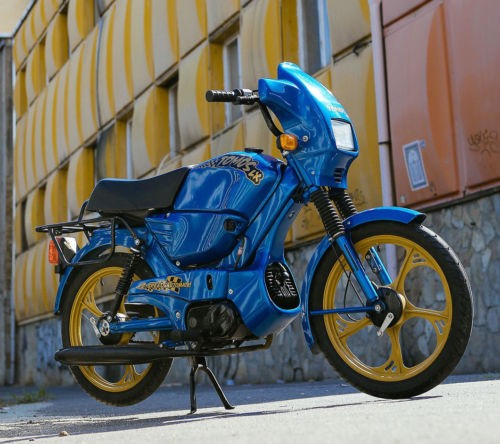 2001 Other Makes TOMOS TARGA LX rare retro moped in mint condition for sale