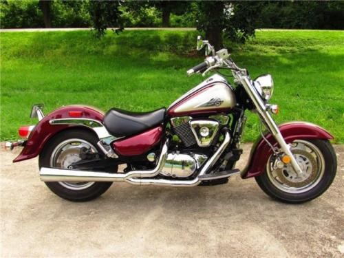 2001 Suzuki Intruder -- Maroon for sale