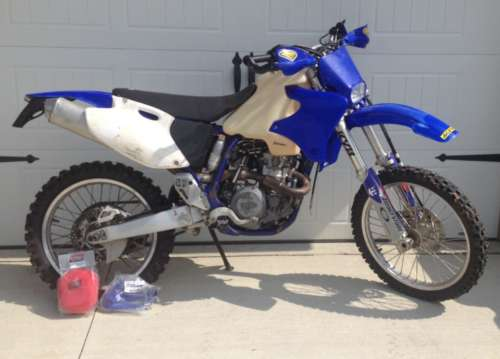 2001 Yamaha YZ Blue for sale craigslist
