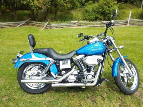2002 Harley-Davidson Dyna Blue for sale craigslist