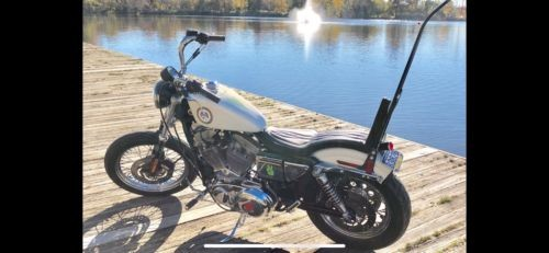 2002 Harley-Davidson Sportster White for sale craigslist