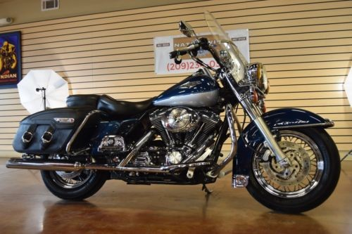 2002 Harley-Davidson Touring Blue/Silver for sale craigslist