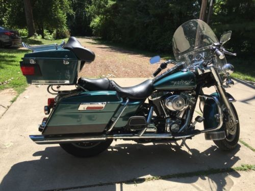 2002 Harley-Davidson Touring Green over Black Two-Tone for sale craigslist