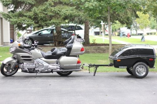 2002 Honda Gold Wing Silver for sale
