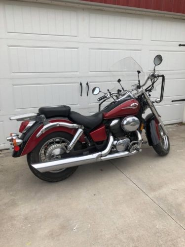 2002 Honda Shadow Black/Red for sale