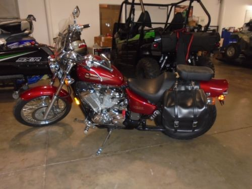 2002 Honda Shadow Red for sale