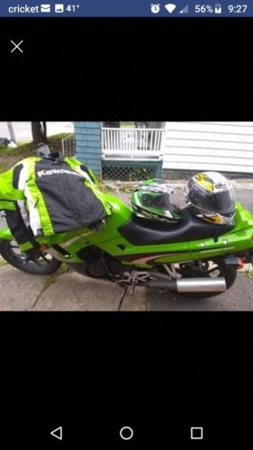 2002 Kawasaki Ninja Green for sale craigslist