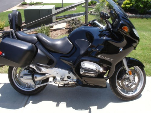 2003 BMW R1150RT Black for sale