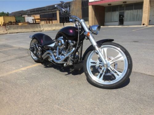 2003 Custom Built Motorcycles Chopper Black - Ghosted Purple for sale craigslist