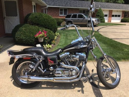 2003 Harley-Davidson Dyna Black for sale craigslist