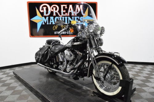 2003 Harley-Davidson FLSTS - Heritage Springer 100th Anniversary -- Black for sale
