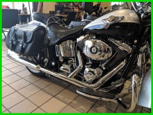 2003 Harley-Davidson FLSTS - Heritage Springer Softail® SILVER/BLACK ANN. for sale craigslist