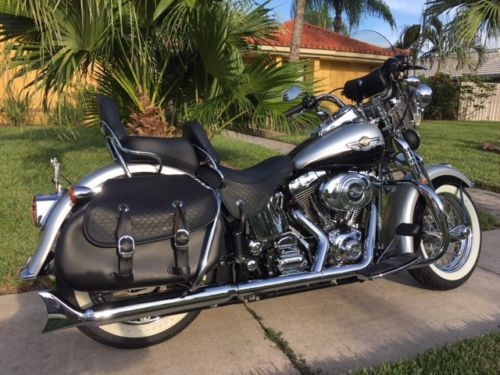 2003 Harley-Davidson Softail Anniversary Black And Silver for sale craigslist