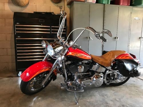 2003 Harley-Davidson Softail Red for sale craigslist