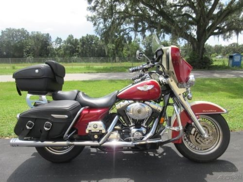 2003 Harley-Davidson Touring Red for sale