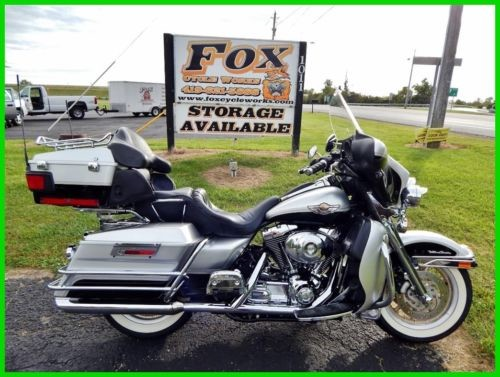 2003 Harley-Davidson Touring Sterling Silver / Vivid Black for sale craigslist