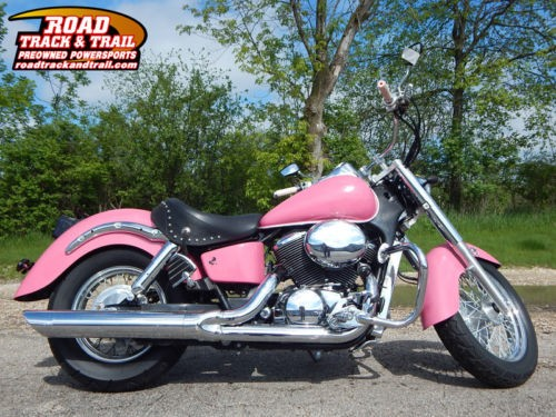 2003 Honda Shadow Ace Deluxe -- Pink craigslist