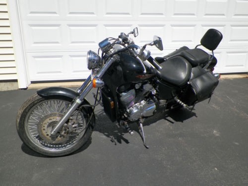 2003 Honda Shadow VLX 600 Black for sale