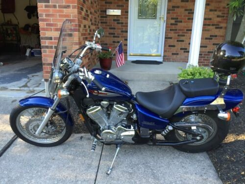 2003 Honda Shadow VLX-600 -- Blue for sale craigslist
