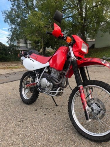 2003 Honda XR650L Red for sale