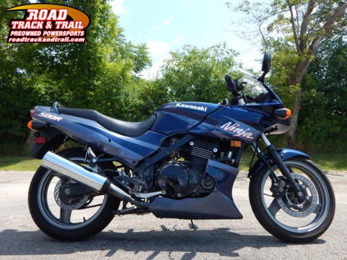 2003 Kawasaki Ninja 500 -- Blue for sale