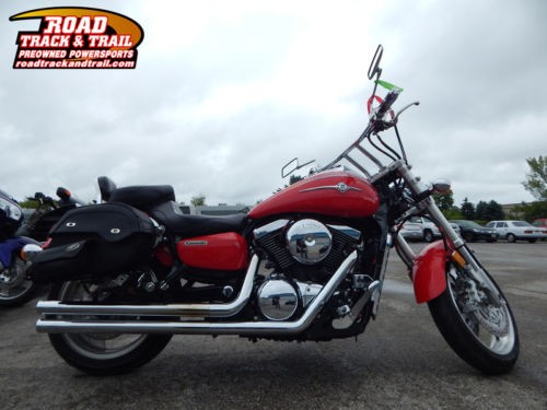 2003 Kawasaki Vulcan Meanstreak 1500 -- Red craigslist