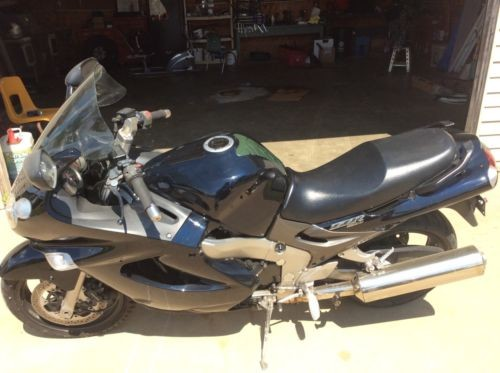 2003 Kawasaki ZZR1200 Black for sale craigslist