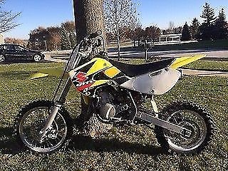 2003 Suzuki RM65 Yellow for sale