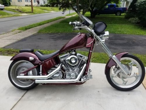 2004 American Ironhorse Legend Burgundy for sale craigslist