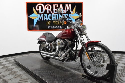2004 Harley-Davidson FXSTDI - Softail Deuce -- Red for sale craigslist