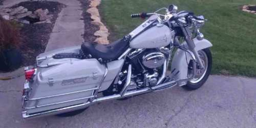 2004 Harley-Davidson Touring 1936 Caddy White Pearl for sale craigslist