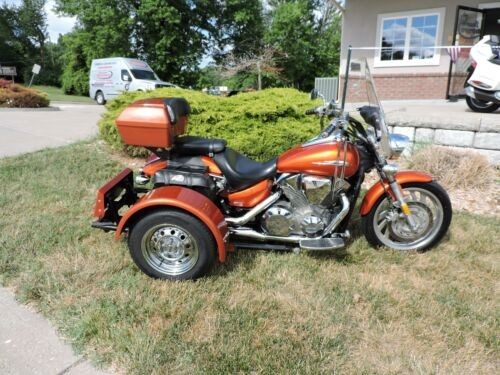 2004 Honda VTX 1300/VOY KIT -- Orange for sale craigslist