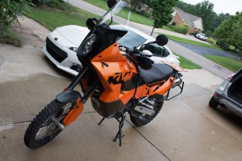 2004 KTM Adventure Orange photo