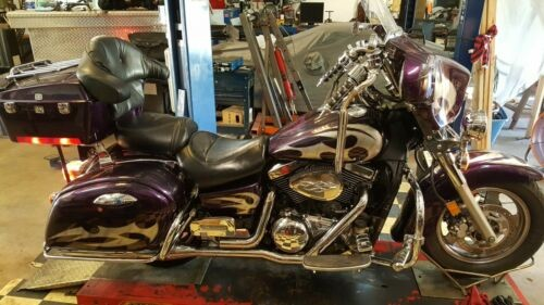 2004 Kawasaki Vulcan Purple photo