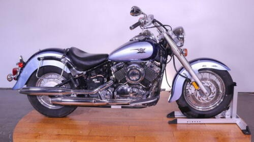 2004 Yamaha V Star -- Blue for sale craigslist