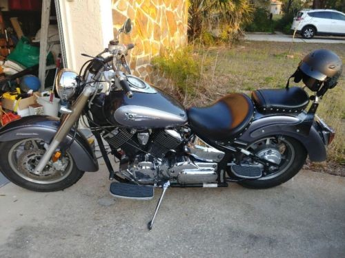 2004 Yamaha V Star Silver for sale