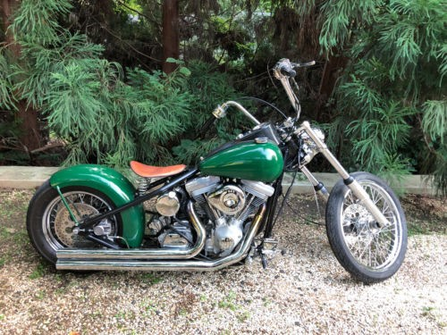 2005 Custom Built Motorcycles Chopper Green craigslist
