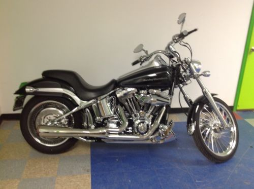 2005 Custom Built Motorcycles Softail Deuce Black for sale craigslist