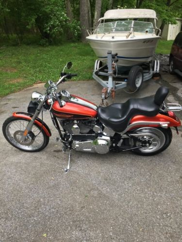 2005 Harley-Davidson Softail Red for sale craigslist