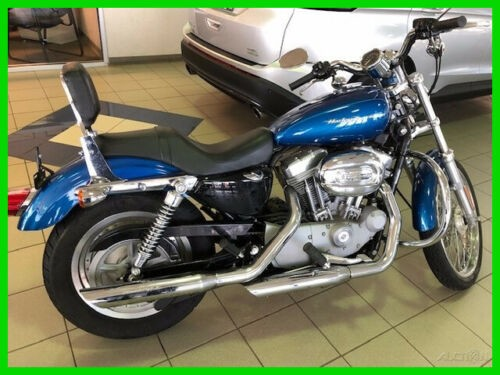 2005 Harley-Davidson Sportster 883 Blue for sale craigslist
