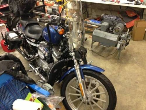 2005 Harley-Davidson Sportster Chopper Blue Pearl for sale craigslist