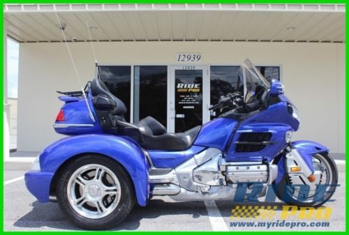 2005 Honda Gold Wing Blue for sale craigslist