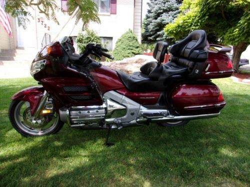 2005 Honda Gold Wing Red for sale