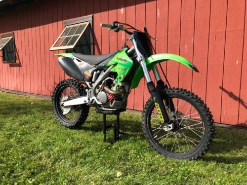2005 Kawasaki KX GREEN for sale craigslist