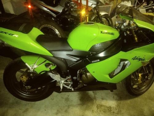 2005 Kawasaki Ninja Green for sale